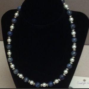 Blue Jean Rhapsody Necklace